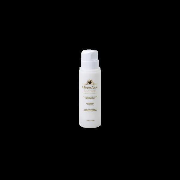 Open airless pump salon bottle