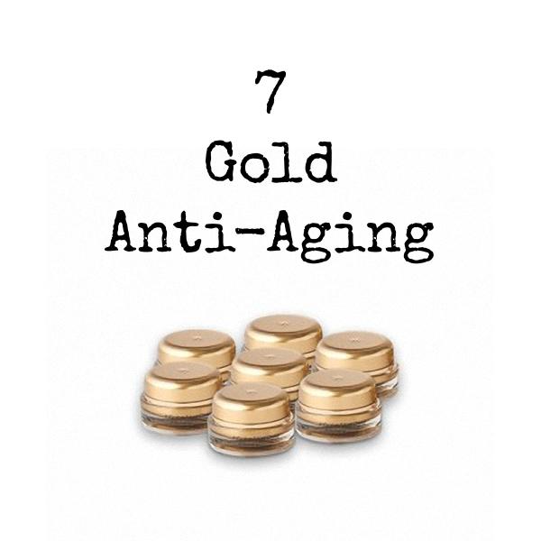Seven InfiniteAloe Gold Anti-Aging Bundle