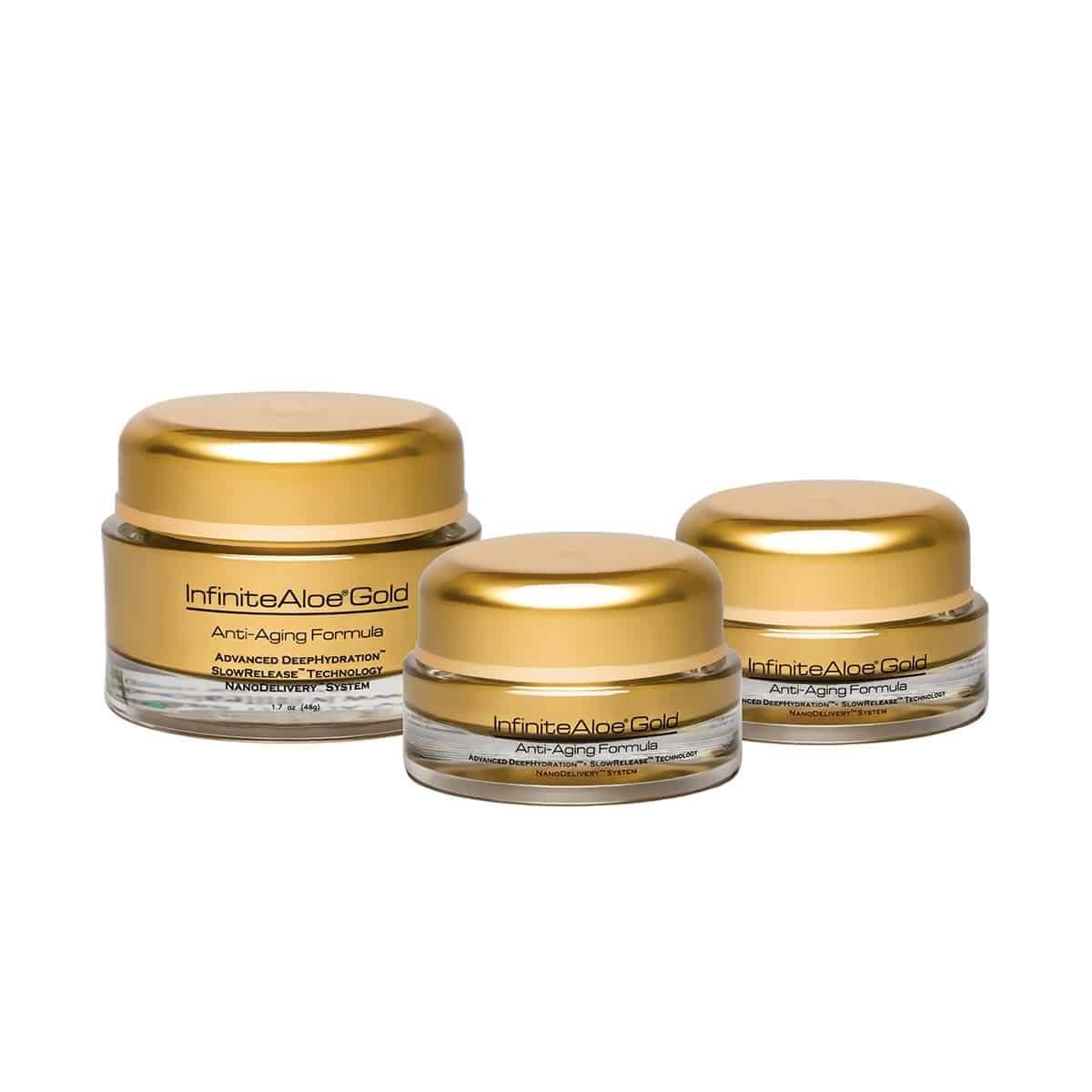 InfiniteAloe Anti-Aging Gold Special Bundle